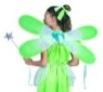 "Pixie wings - Green fairy wings - 24""x10"" (Child)."