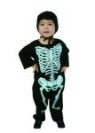 Lil bones costume includes jumpsuit & hood.