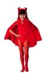 "Child cape - 27"" Red - Nylon."