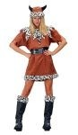 Viking queen costume includes dress and hat.  *Boots are not included.