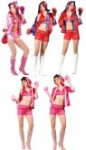 "Knock Out costume includes hooded robe, lace up front top, shorts & boxing gloves.  Also available in Plus Size: <a href=""/KNOCK-OUT-COSTUME-Grp-123Z81444-Plus.aspx"">Z81444-Plus</a>."