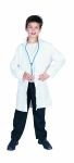 This Doctors Lab Coat works great as part of an einstien costume or for career day at school. Costumes includes : white buttonless jacket and stethoscope.