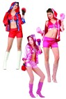 "Knock Out costume includes hooded robe, lace up front top, shorts & boxing gloves.  Also available in Adult Size: <a href=""/KNOCK-OUT-COSTUME-Grp-123Z81444.aspx"">Z81444</a>."
