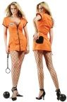 "Sexy Convict Costume includes Dress with Double Zipper. Costume also available in Plus Size (<a href=""/Sexy-Convict-Costume---Plus-Size-Grp-123z81519-plus.aspx"">Z81519-plus</a>)."