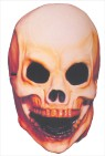 Skull Mask - Small full over-the-head latex mask.