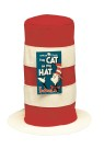 Hat From Cat In The Hat - Soft, floppy Seuss-style hat. Foam-lined fabric with reinforced rim for a nice, crisp brim.