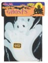 Glow In The Dark Hanging Ghost - A family of 3 glow-in-the-dark ghosts in assorted sizes. Made with a very durable plastic material.