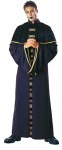 Minister of Death Adult Costume - Deluxe quality costume includes: Velvet robe with drop sleeves, metallic trim and buckles. Fits most men up to size 44.