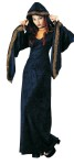Midnight Priestess Adult Costume - Includes: Hooded velvet robe with metallic trim. One size fits most.