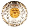 Roman Shield - Light plastic shield with realistic lions head embossed. Approximately 18 inches.