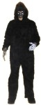 Adult Gorilla Costume (No Chest) - Suit, hands, mask, and battery operated moving eyes