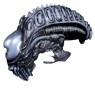 Aliens Head Collector Mask - Become the Alien! 3 Long with mouth open exposing the lethal inner jaws. Comfortable to wear.