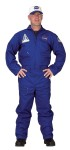 "Flight Suit Adult Costume - Youll certainly look like you have The Right Stuff in this great Flight Suit costume. One piece jump suit with official NASA patches and plenty of zipper pockets and an embroidered cap. Fits adults 58"" to 62"" and up to 220 lbs."