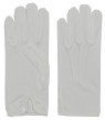 Men Nylon Gloves With Snap White - good quality adult nylon glove that snaps at the wrist. Material: Nylon