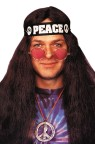 Hippie Kit - includes Peace Necklace, 60s style glasses and a Peace Headband.