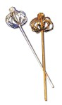 Sequin Scepter - An inexpensive 15 scepter adorned with sequins. Fit for a King or Queen