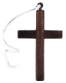 Monks Cross - A must for a monks costume. Lightweight and sturdy cross.  8 inches tall and 5 inches across. Exact color of cross may vary, our choice please.