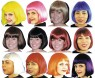 Cindy Wig - Chin length glamour style wig of the 60s and 70s is made  of texturized synthetic fiber.