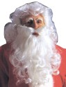 Economy Santas Wig & Beard - Nylon..Our best economy santa Wig and Beard Set.