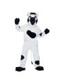 "Cow Mascot Adult Complete Costume - Oversized mascot head, plush body, mitts, spats, and parade big feet. One size - fits most men and women from 5'8"" to 6' tall and up to 190 lbs.*Please note: This item is a Special Order and typically takes 2 to 4 weeks for delivery."