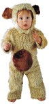 Bear Oatmeal Toddler Costume - This loveable huggable…little cutie includes:  curly plush jumpsuit with plush fur tummy and matching hood. Made of Acrylic