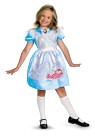 Classic Alice Child Costume - Classic costume has dress with attached pinafore. Knee highs and shoes not included.