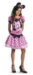 Minnie Mouse Child Costume - Precious dress with character cameo and matching headband with ears.