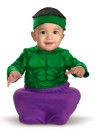 Hulk Infant Costume - Character bunting with soft cap. Too cute!