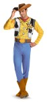 Classic Woody Adult Costume - Printed jumpsuit includes the cowboy hat.