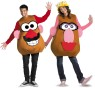 Deluxe Mr. Potato Head Adult Costume - Foam overlay with attached ears, detachable male eyes, nose, moustache, mouth, and includes female hat, eyes, nose, and lips so you can change to Mrs Potato Head! Extra value-two for one!