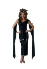 Medusa Adult Costume - Includes: Dress with Greek trim, Snake Headpiece, Snake Armband. Fits up to size 16. 100 percent polyester.