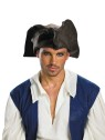 Disney Jack Sparrow Hat (Adult Size) - Brown tri-corn pirate hat. One size fits most adults.