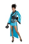 This is one hot Geisha! Includes: satin look dress, belt, fan and chopsticks for your hair.