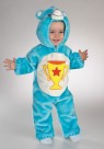 Care Bear Champ Toddler Costume - Includes: Plush Jumpsuit and attached character hood. Material : Acrylic / polyblend.