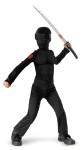 Classic Snake Eyes Child Costume - Classic costume has jumpsuit and fabric hood with visor. Toy weapon not included.