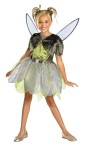 Deluxe Tinkerbell Child Costume - Your special little girl will feel magical in Disneys Tinkerbell costume! Dress with sparkle tulip skirt and detachable wings. Costume does not come with shoes.