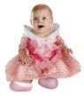Infant Aurora Costume - Dress your infant to be the Sleeping Beauty Aurora! This adorable costume includes: Dress with gold sparkle print and character cameo.
