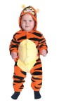 Tigger Infant Costume - Bodysuit with character hood and closure with snaps along center front and inseams. *Disney Copyright.
