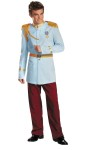 "<span id=""lblDescription"">Prince Charming Prestige Adult Costume includes Jacket with attached belt, detachable epaulettes, medal and pants. 100% polyester.<br><br></span><span id=""LblCopyRight"" class=""style4"">(c) Disney.</span><br>"