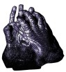 Gorilla Hand Gloves - Latex gloves that come just past the wrist.