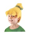 Tinkerbell Wig - Cute fabric hat-like wig looks just like Tinker Bell!