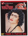 Frank N Furter Wig - Black curly character wig. One size fits most.
