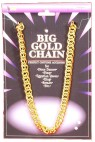 Gold Chain - Perfect Accessory For Any Disco Dancer- Pimp- Egyptian Queen King- Roman- And Many More! Thick gold neck chain.