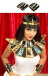 Egyptian Wrist Bands - Traditional Egyptian style wrist bands with lame style accents.