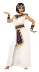Princess of the Pyramids Adult Costume - Polyester dress, embellished headpiece, collar, belt and wristbands.