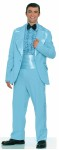 Prom King Adult Costume - Jacket, shirt front, bow tie, cummerbund and pants. What a look!