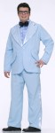 Prom King Adult Costume (Plus Size) - Jacket, shirt front, bow tie, cummerbund and pants. What a look!