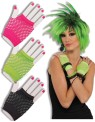 Fingerless Fishnet Gloves - Short fingerless fishnet gloves.