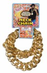 Big Link Neck Chain - Ultimate bling, metal large link gold colored chain.