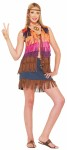 Hippie Fringed Vest - 60s multicolored fringed vest. Nice addition to any retro costume. One size fits most.